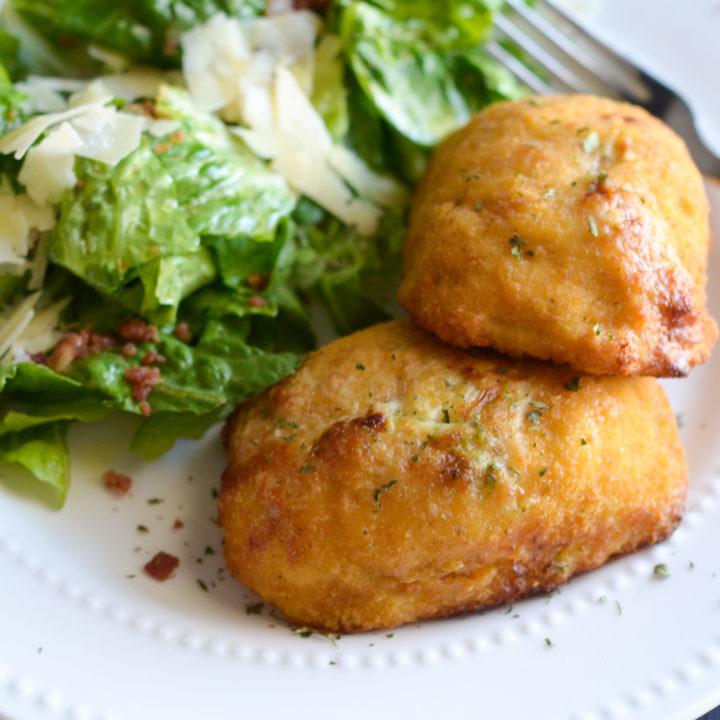 Air Fryer Broccoli & Cheese Stuffed Chicken Breast