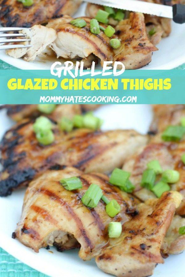 Glazed Chicken Thighs