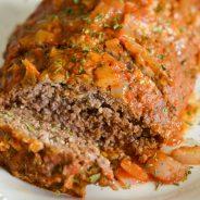 Easiest Slow Cooker Meatloaf