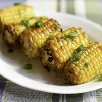 Air Fryer Roasted Corn