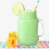 Lime Sherbet Party Punch Recipe! {3 Ingredients}