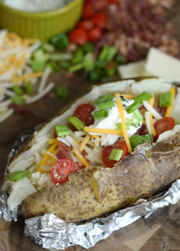 Air Fryer Baked Potato Recipe