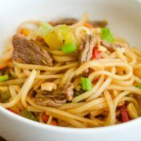 Easy Beef Pad Thai (Gluten-Free)
