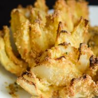 How to Make an Air Fried Blooming Onion (Gluten-Free)