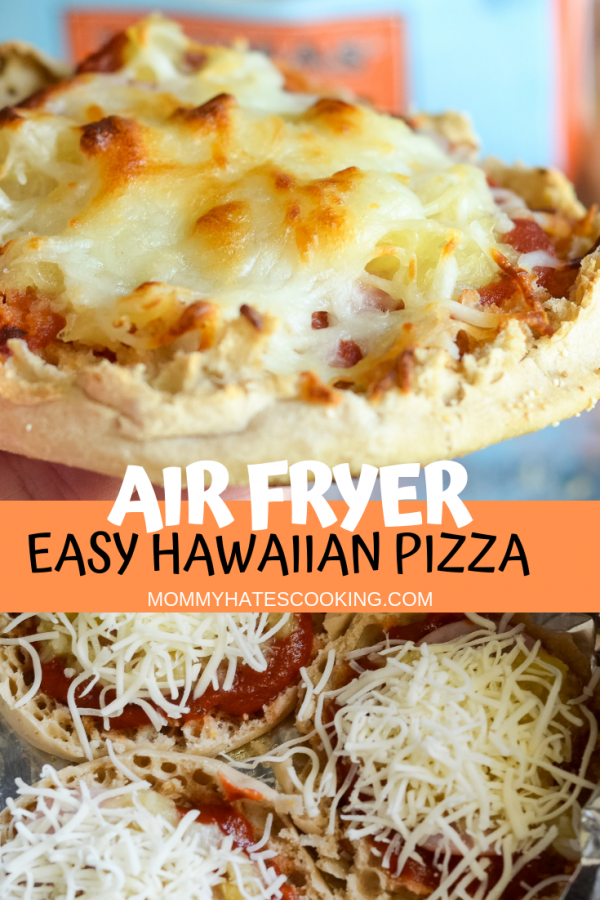 air fryer easy hawaiian pizza