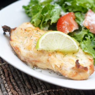 Cheesy Lime Chicken