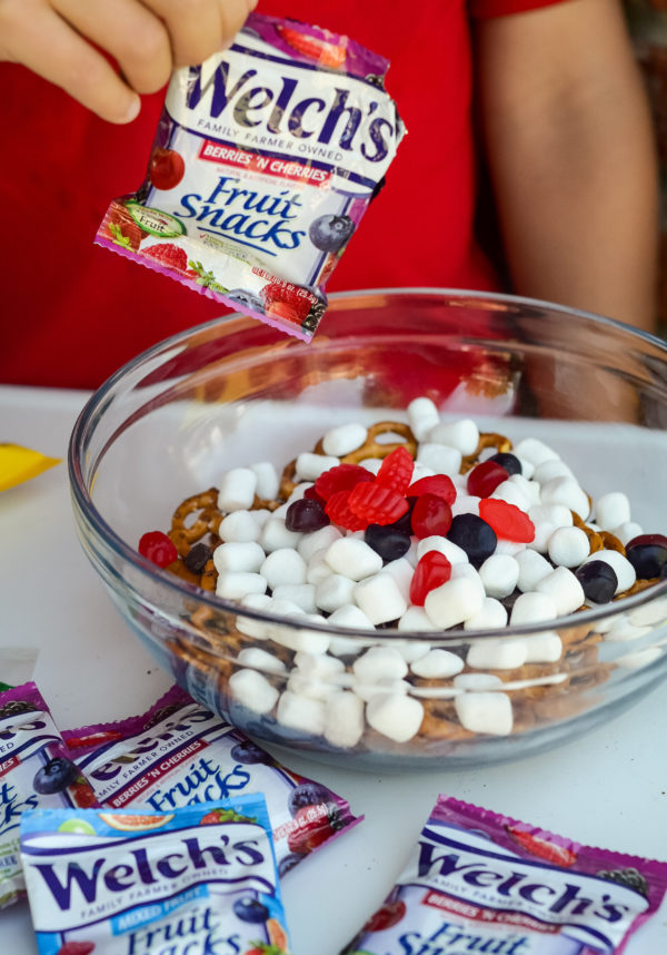 No-Bake Sweet & Salty Snack Mix
