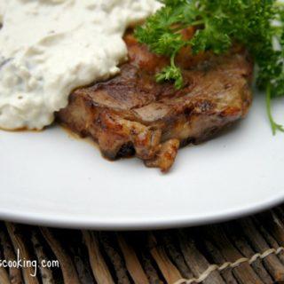 Alfredo Smothered Steaks