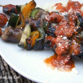 Johnsonville Italian Sausage Kabobs