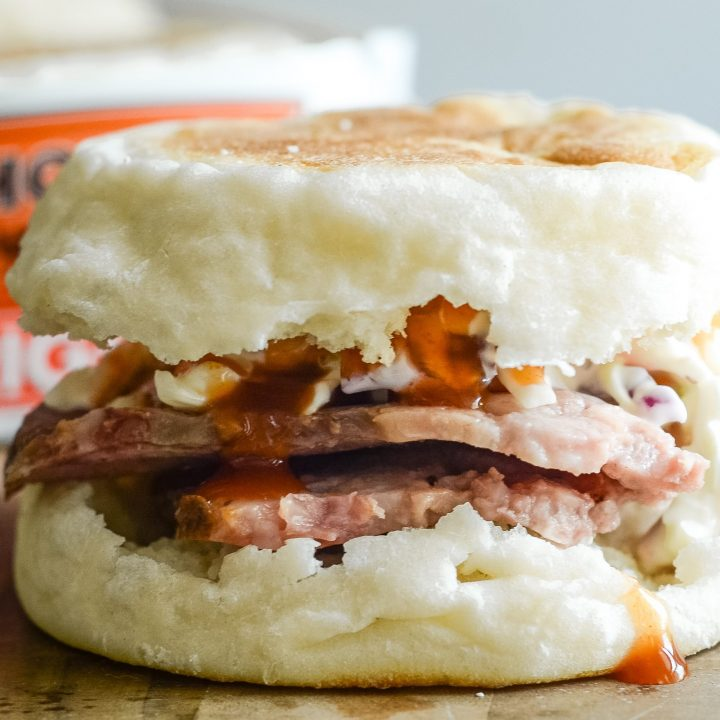 Smoked Brisket Sandwiches with Coleslaw
