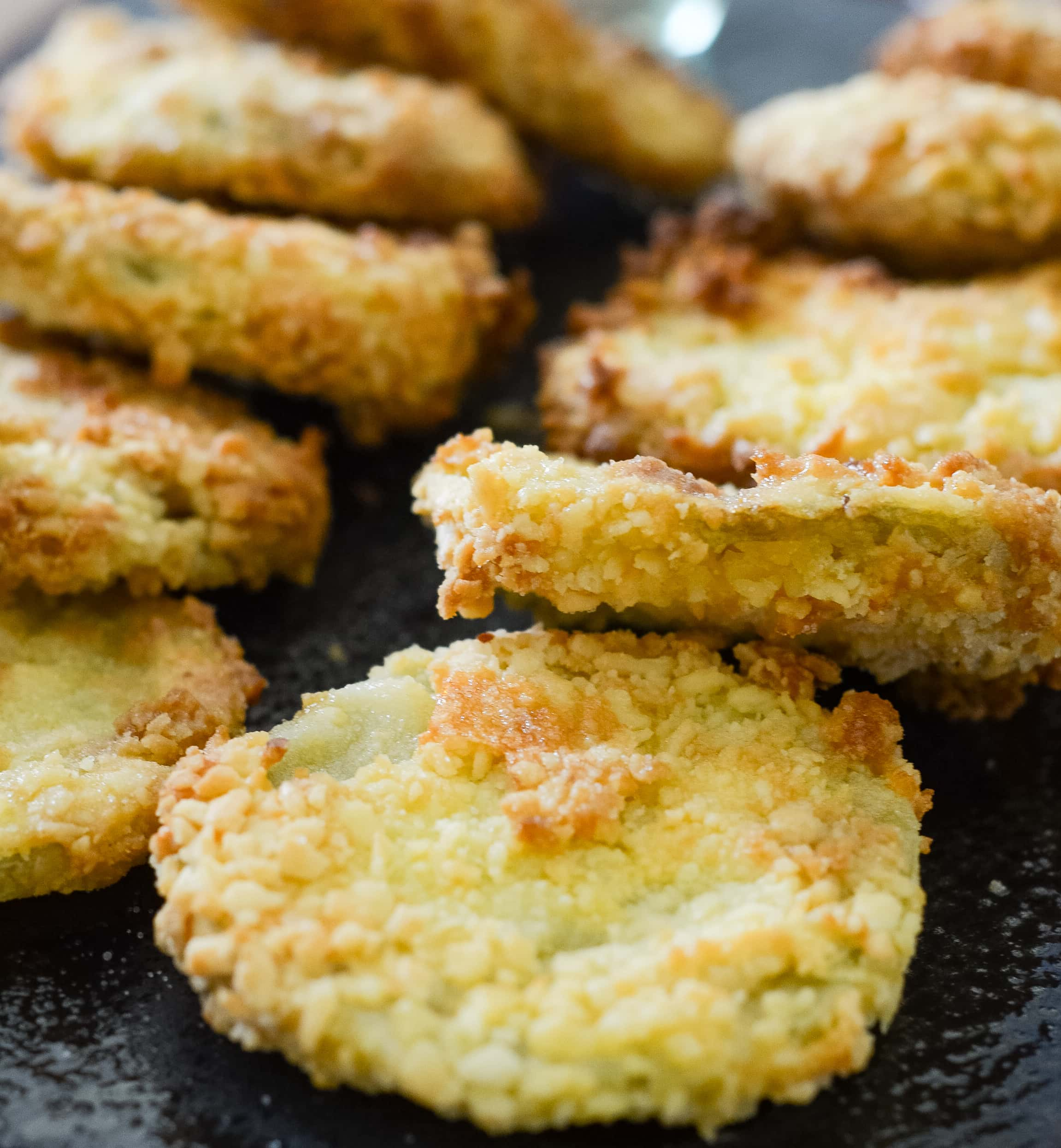 Gluten-Free Air Fryer Fried Green Tomatoes
