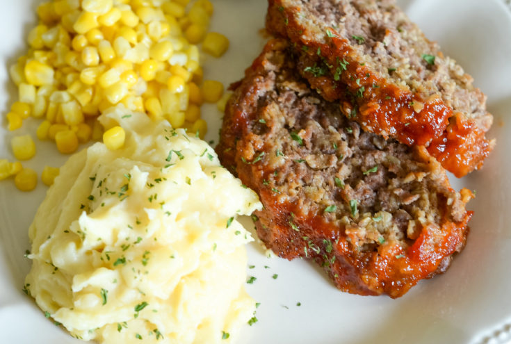 Ninja Foodi Meatloaf and Potatoes