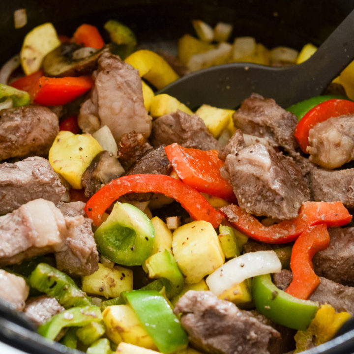 Ninja Foodi Steak and Vegetable Bowls
