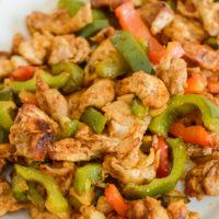 Ninja Foodi Chicken Fajitas {Air Fryer}