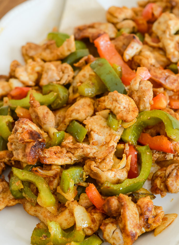 Ninja Foodi Chicken Fajitas {Air Fryer}