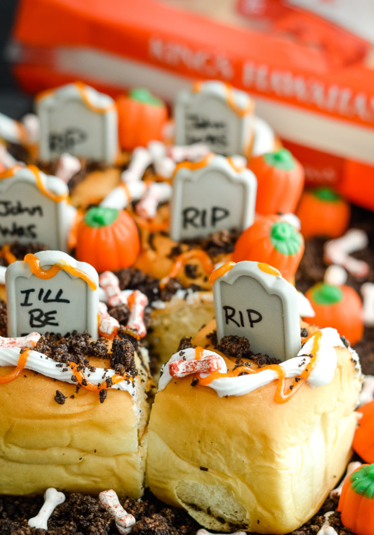 Spooky Graveyard Rolls