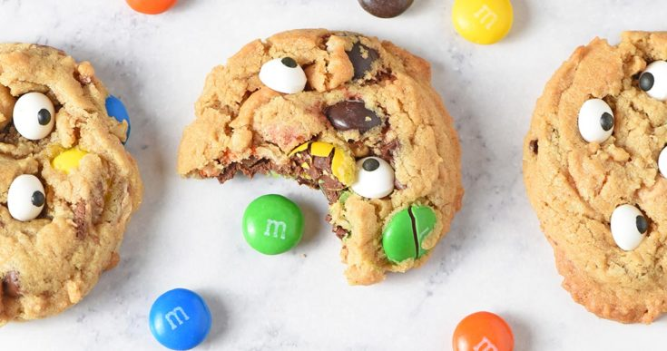 Soft and Chewy Monster Cookies Recipe