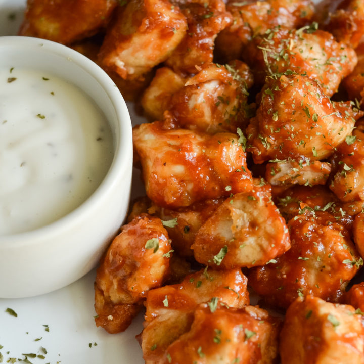 Air Fryer Barbecue Chicken Nuggets (Gluten-Free)