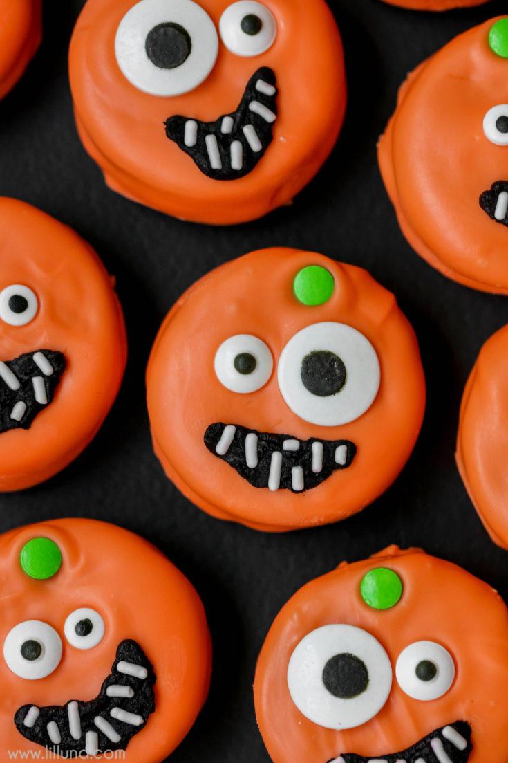 Halloween Pumpkin Oreos