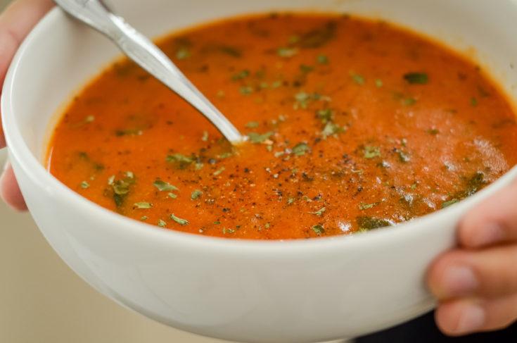 Creamy Tomato Florentine Soup