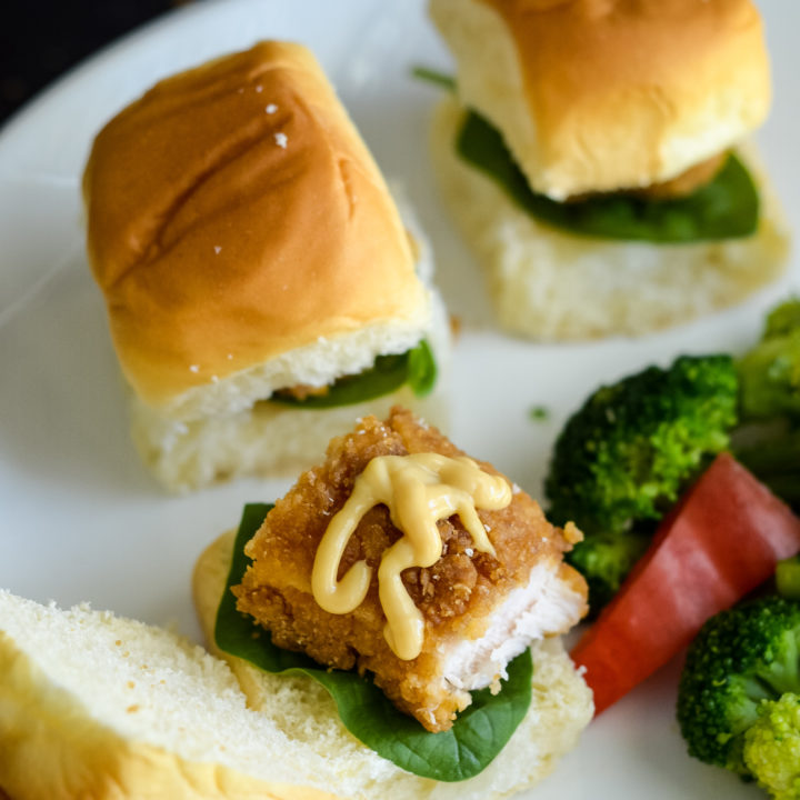 Easy Crispy Chicken Sliders