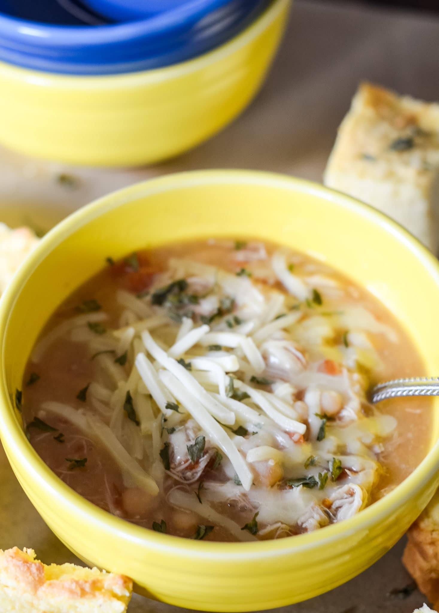 Ninja Foodi White Chicken Chili Slow Cooker Mommy Hates Cooking