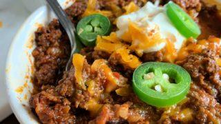 Keto Instant Pot Chili Recipe No Beans