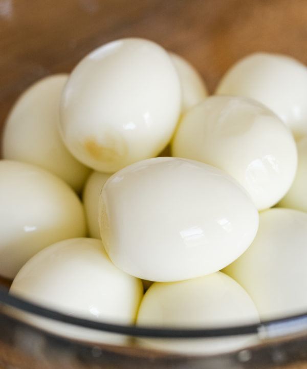 hard-boiled eggs in the ninja foodi