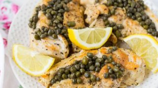 Healthy Chicken Piccata in the Instant Pot