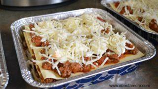 Lasagna Freezer Meal Recipe