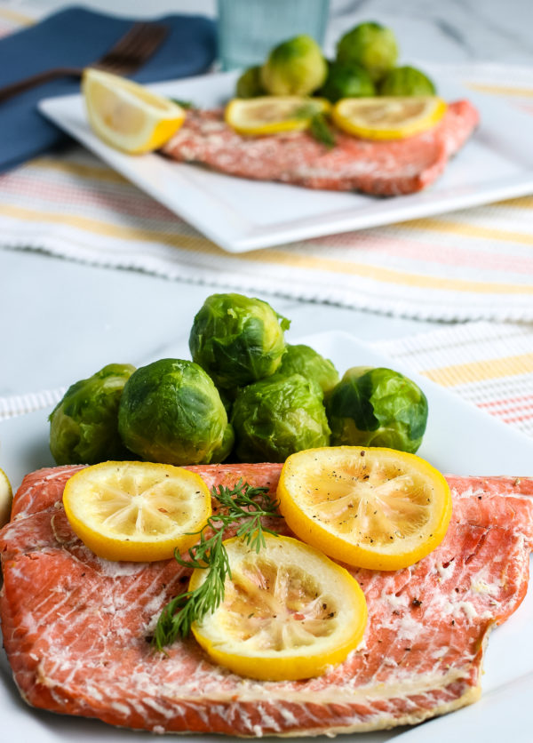 Easy Ninja Foodi Salmon