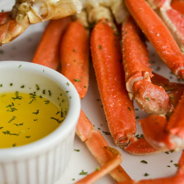 Crab Legs in the Ninja Foodi