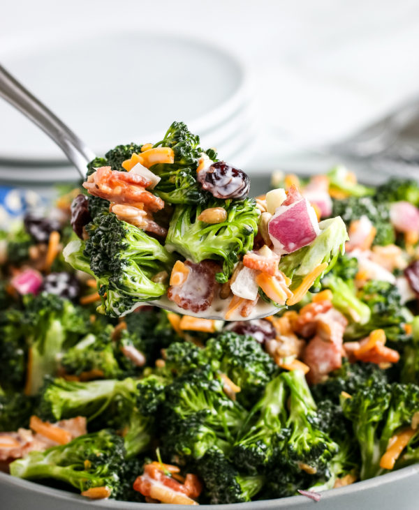 Best Broccoli Salad Recipe (Gluten-Free)