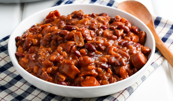 Ninja Foodi Baked Beans