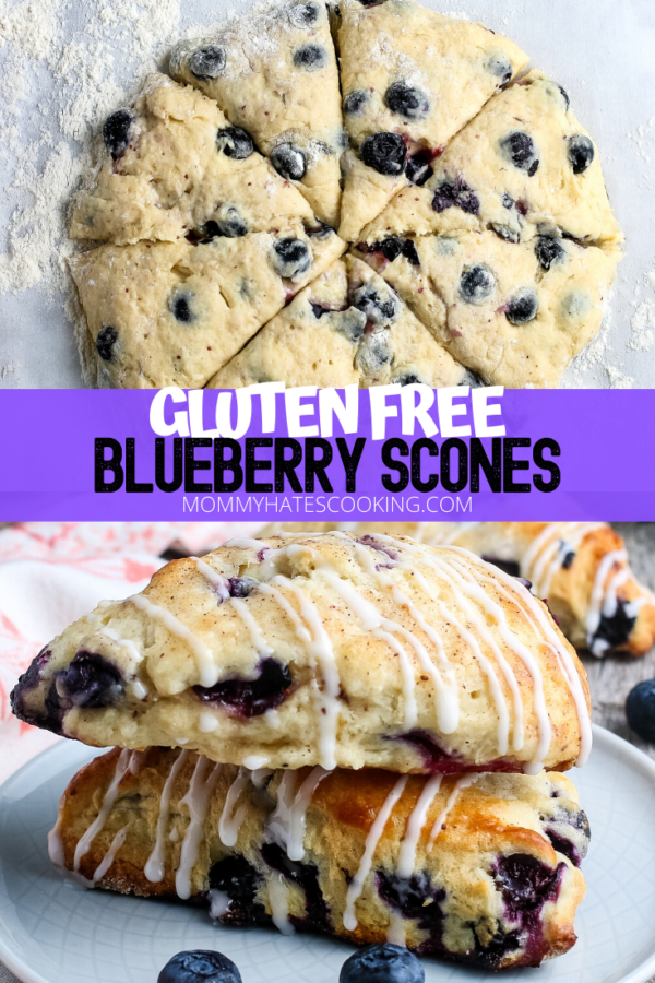 Easy Blueberry Scones