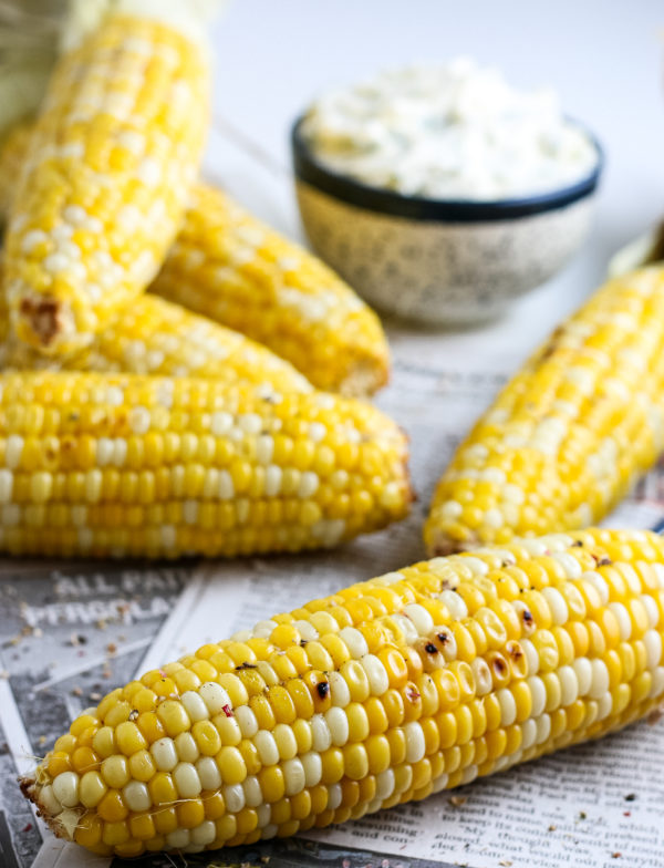 easiest way to grill corn on the cob