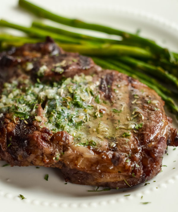 Garlic Butter Ribeyes