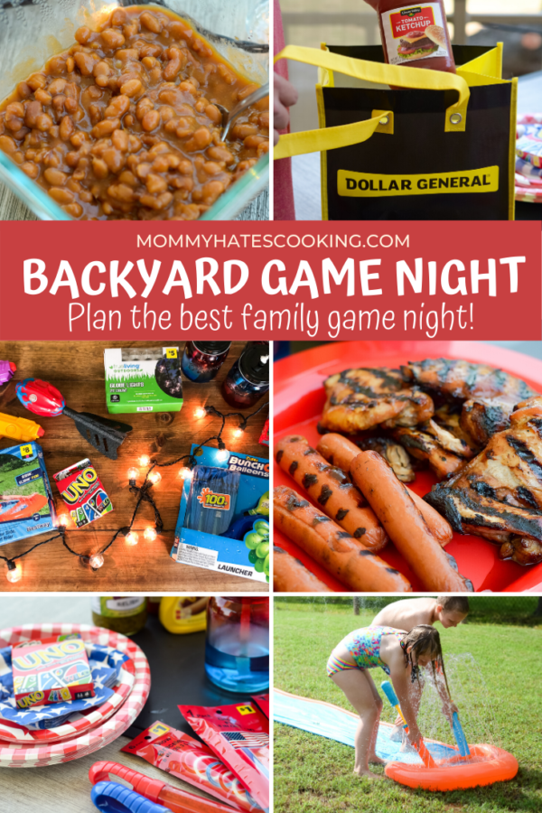 Backyard Game Night at Dollar General