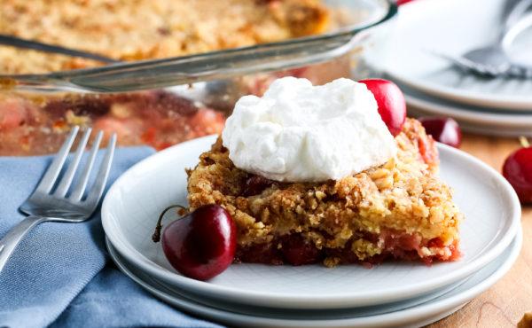 Classic Cherry Dump Cake (Gluten-Free)