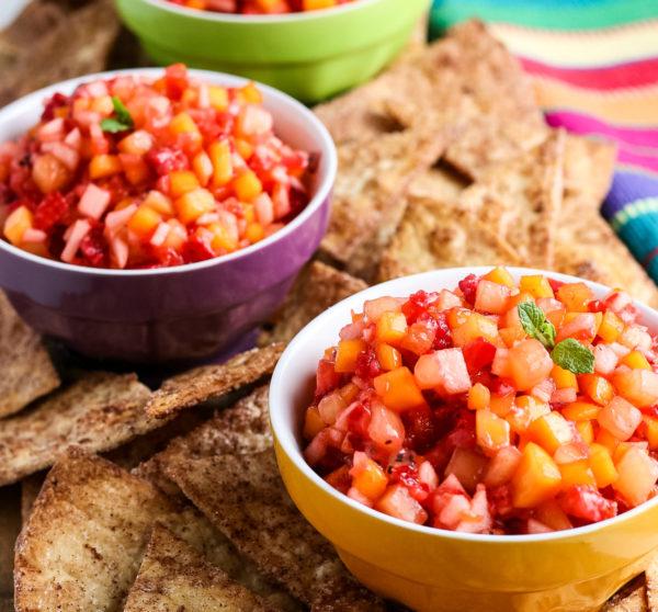 Easy Fruit Salsa