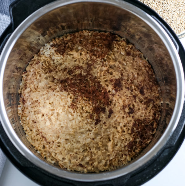 Ninja Foodi Oatmeal (Pressure Cooker Recipe)