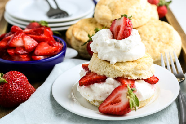 Gluten-Free Strawberry Shortcake Recipe