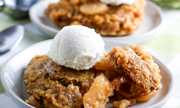 Crockpot Apple Cobbler (Gluten-Free)