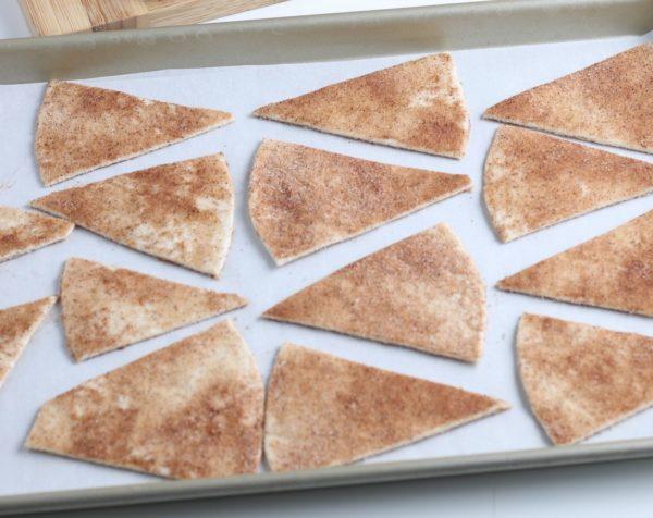 homemade cinnamon chips