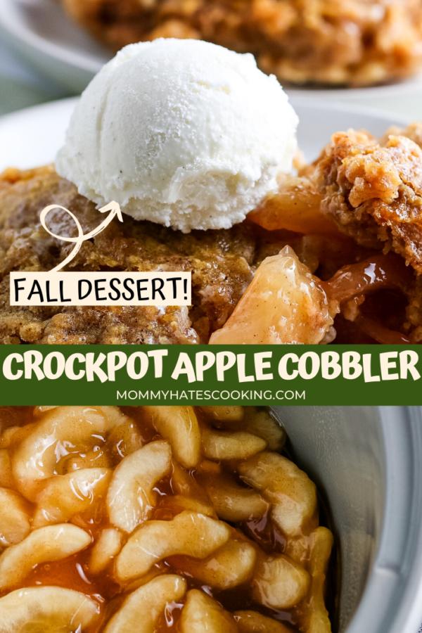 Crockpot Apple Cobbler (Gluten-Free)