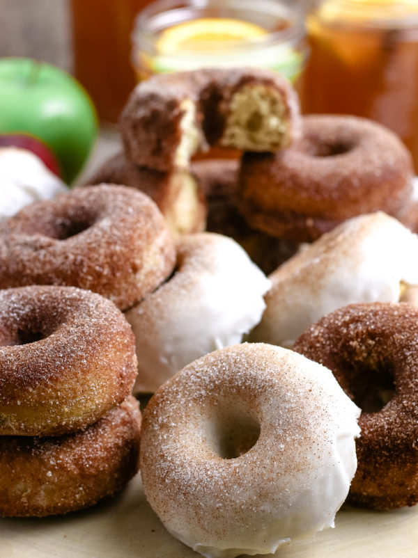 Apple Cider Donuts (Gluten-Free Optional)