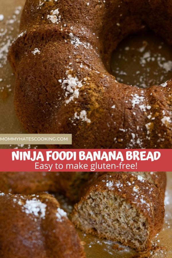 ninja foodi banana bread