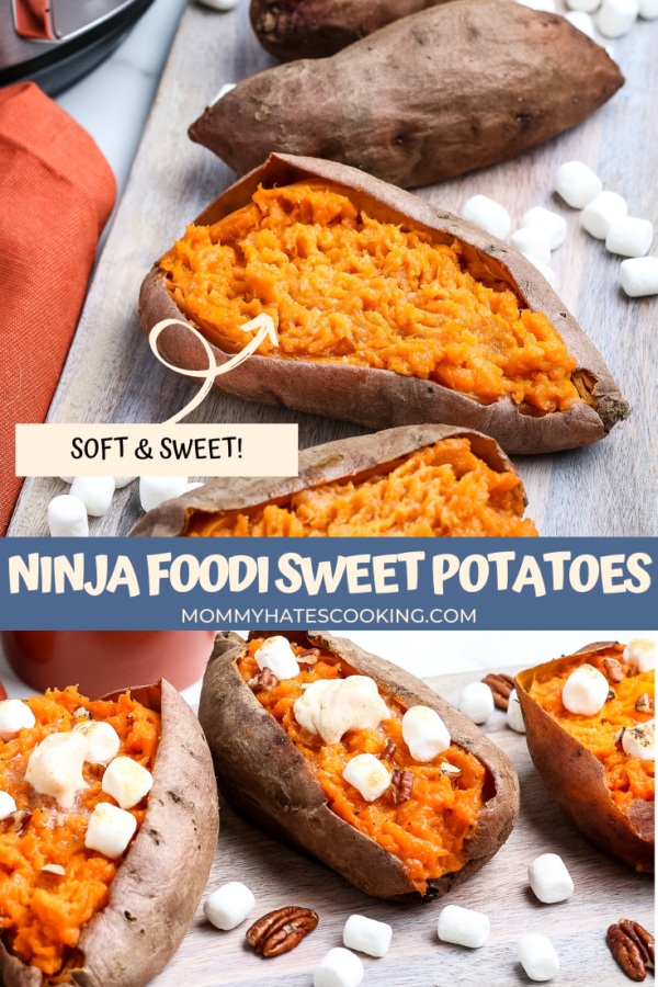 Ninja Foodi Sweet Potatoes (Pressure Cooker)