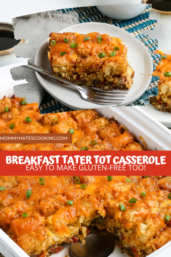 Tater Tot Breakfast Casserole
