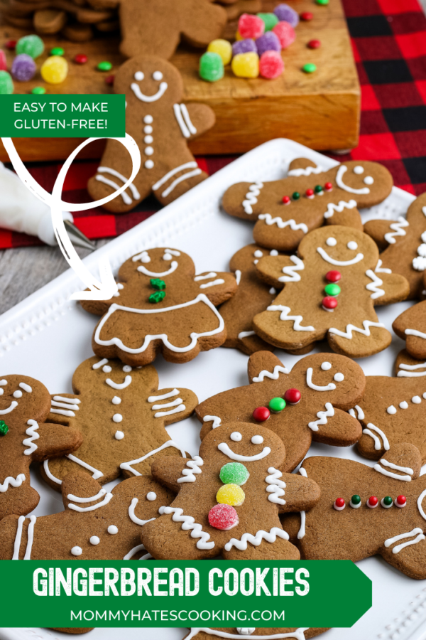 Easy Gingerbread Cookies (Gluten-Free)